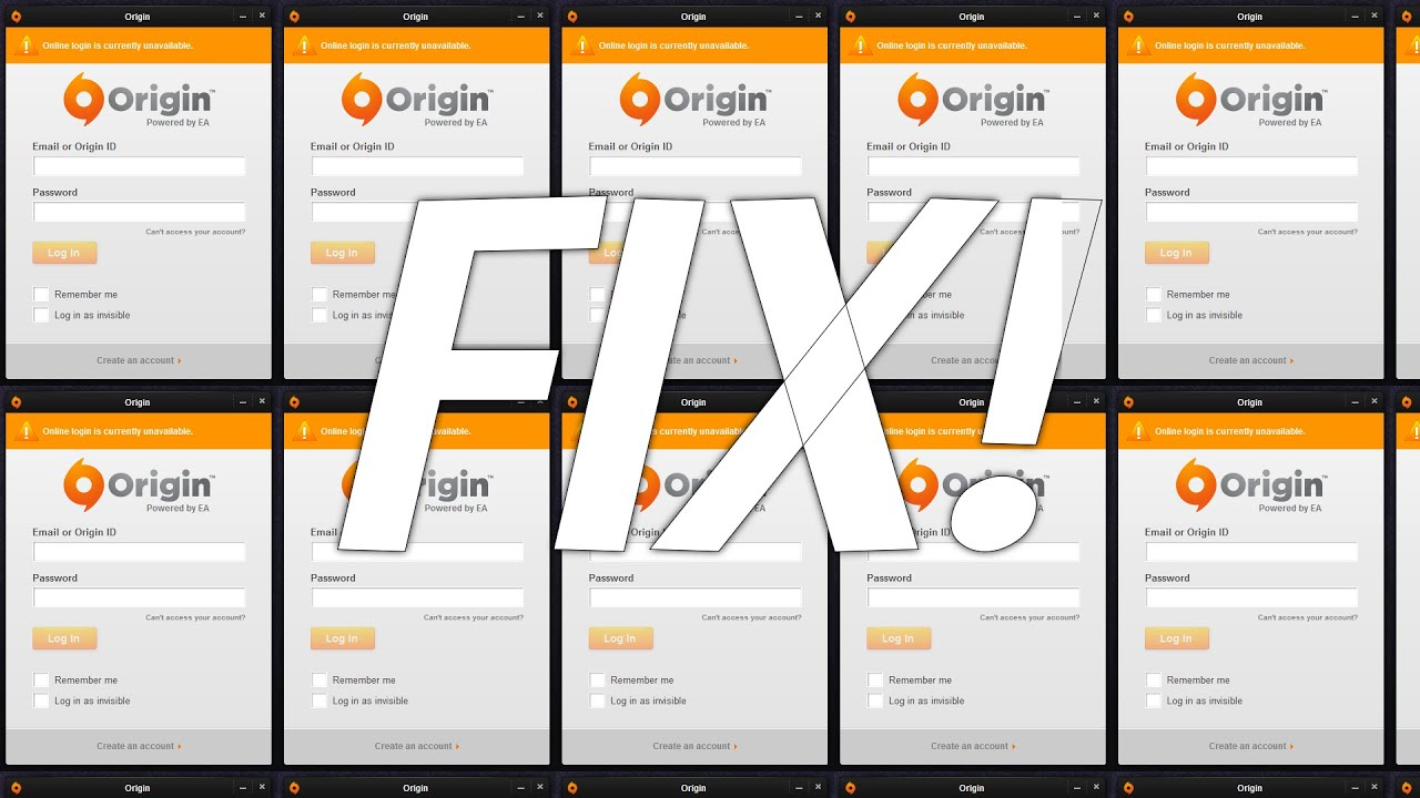 How To Fix Origin Online Login Is Currently Unavailable