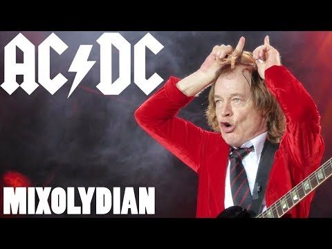 Why Your Mom Loves AC/DC - Mixolydian is their secret sauce
