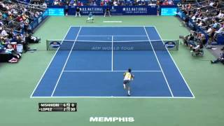ATP Memphis 2013 Final - Kei Nishikori vs Feliciano Lopez (HD)