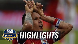 Perez scores late winner for Panama against Bolivia | 2016 Copa America Highlights