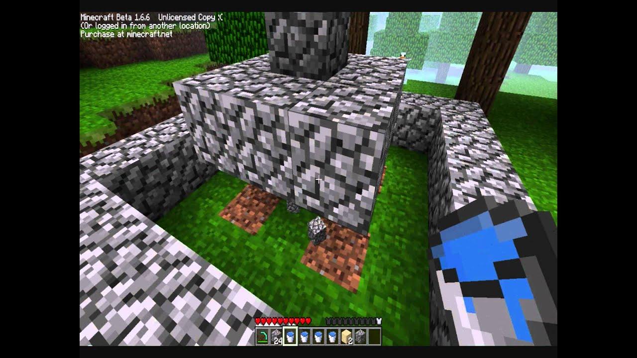 Minecraft Springbrunnen Bauen Youtube