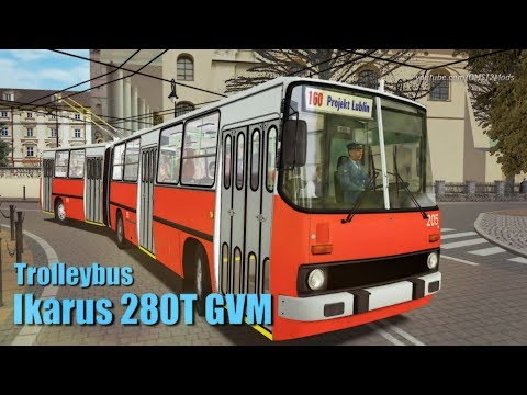 OMSI 2 – Ikarus 280T BKV 205 Trolleybus [Free Version] Electric Transport