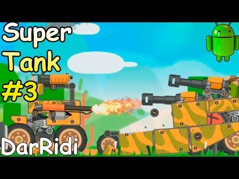 Собери свой танк в игре SuperTank - супер битва танков #3