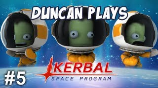 Kerbal Space Program - Part 5 - Moonwalking!