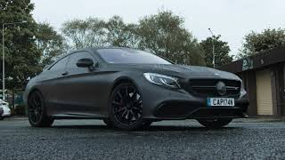F4 Wraps -  Satin Grey Mercedes