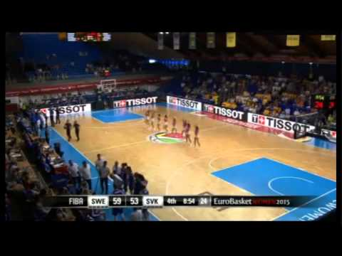 Sweden vs Slovakia - EuroBasket Women 2015