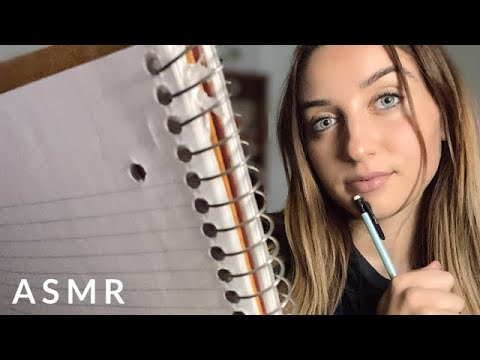 ASMR Drawing Your Face Roleplay