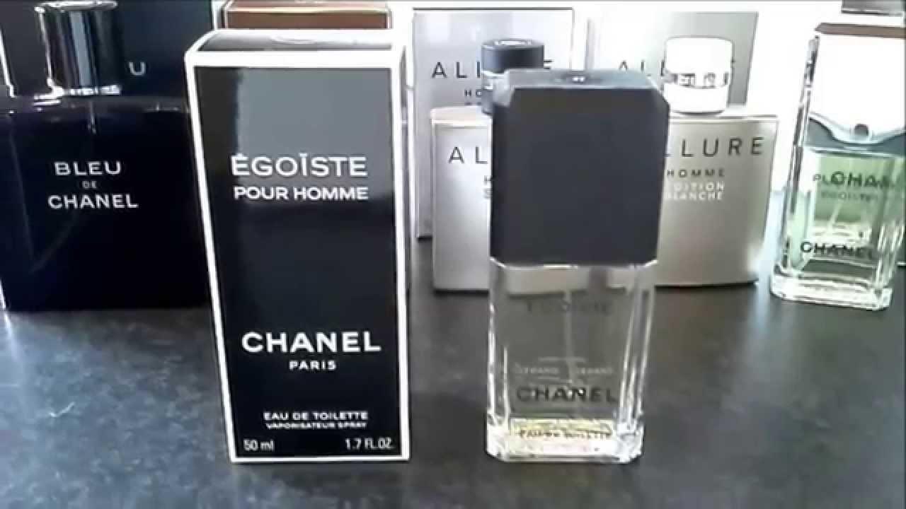Chanel egoiste. Выбираем правильно - YouTube