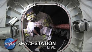 Space Station Live : Astronaut Jeff Williams Enters BEAM Expandable Module