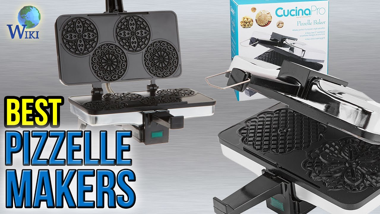 6 Best Pizzelle Makers 2017 Youtube