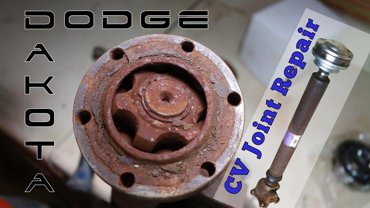 Cv Joint Repair >> Dodge Dakota Front Drive Shaft Cv Joint Repair Fix Crunching Noise When In 4x4