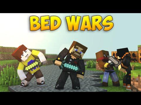 Minecraft BedWars #57 - Как побеждать без кровати?