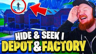 HIDE & SEEK I GAMLA DUSTY DEPOT & FACTORY!!