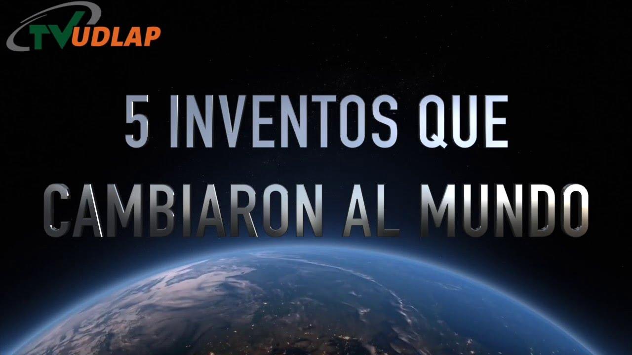 5 inventos que cambiaron el mundo