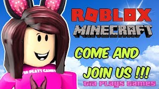 ROBLOX AND MINECRAFT LIVE STREAM!?!? - MMX, Bedwars and more!! - COME JOIN THE FUN!