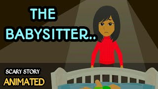 The Babysitter - Scary Story Animated in Hindi | Scary baba