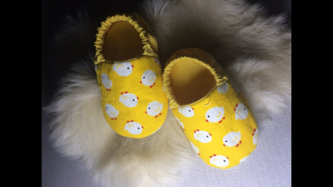 Cách may giày vải cho bé   How to sew Baby Boots   Free Baby Booties Patterns