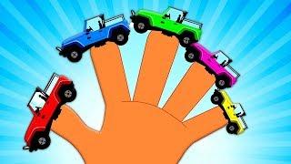 джипа палец семья | Jeep Finger Family | Kids Rhymes Russia | русский мультфильмы для детей