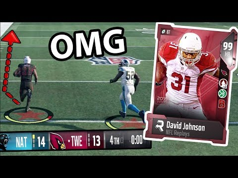 DOWN  1 NO TIME LEFT!! *NEW* DAVID JOHNSON  MADDEN 18 ULTIMATE TEAM GAMEPLAY EPISODE 79