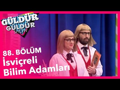 Güldür Güldür Show 88. Bölüm, İsviçreli Bilim Adamları Skeci