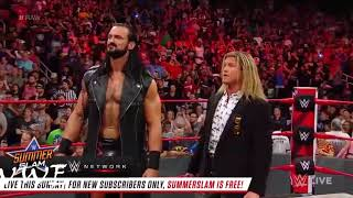 WWE  Dean Ambrose returns, 2018