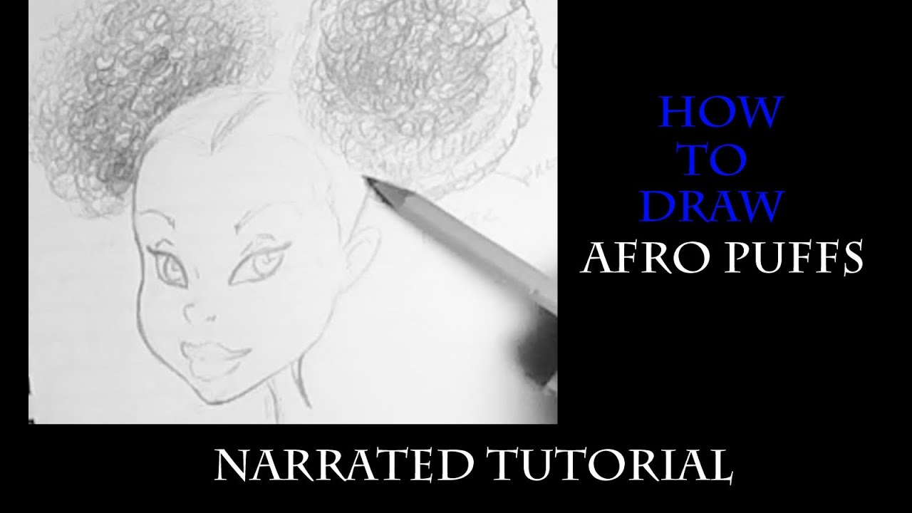 How To Draw: Afro Puffs