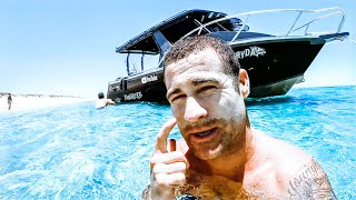 INSANE SHARKY BLUE WATER SPEARFISHING Wahoo Tacos Catch & Cook (New Wetsuits) - Ep 151