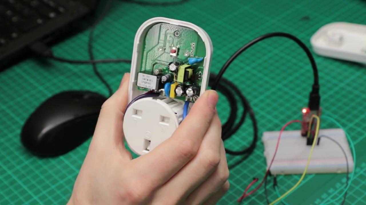 Flashing the Sonoff S20 WiFi Smart Plug with open source Tasmota firmware