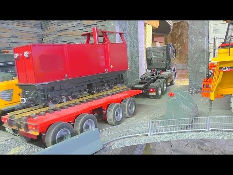 ONE DAY AT THE RC CONSTRUCTION SITE! COOL RC ACTION WITH HEAVY MACHINES! NICE RC VEHICLES AT WORK!