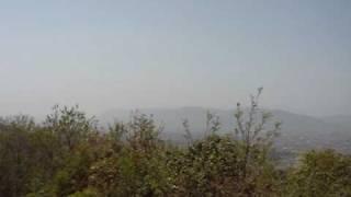 高瀬山(高瀬城址)から眺める展望 島根県斐川町