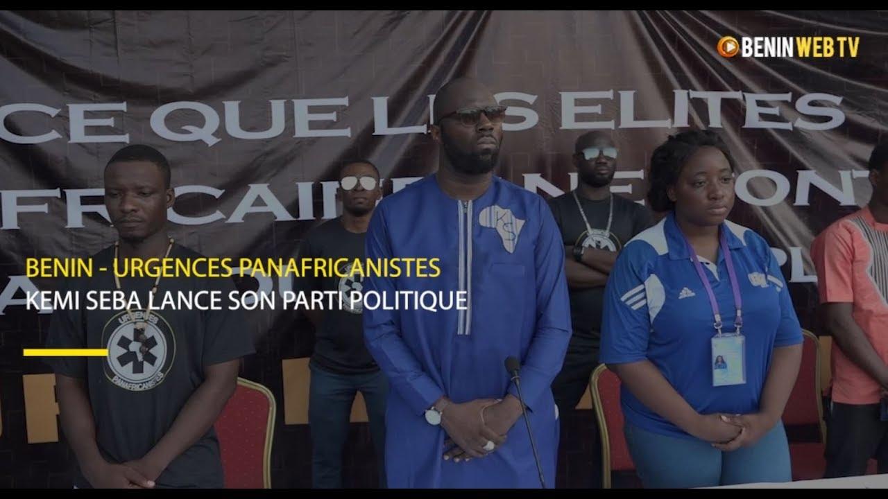 Bénin - Kemi Seba lance son parti politique