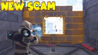 «NEW SCAM» Il obtient Blown Away 😱 doit regarder (Scammer Obtient Scammed) Fortnite Save The World