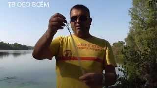 Ловля рыбы на сетку с кормушкой