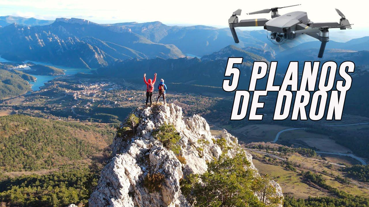 5 PLANOS GENIALES de DRON!!! Aprende a volar!