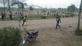 Innocent Ali batting