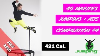 40 minutes Jumping® Fitness - Jumping + ABS toning compilation #4 (07/2020)