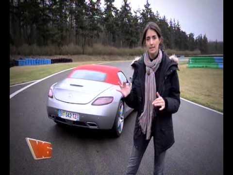 Margot conduit la plus belle voiture du monde dans V6 (26/01/2012)