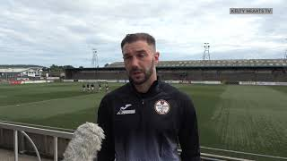 Forfar Athletic v Kelty Hearts - Kevin Thomson