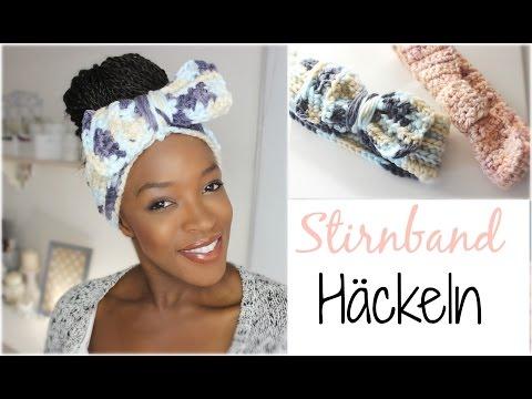 DIY Stirnband Häckeln I Crochet Headband