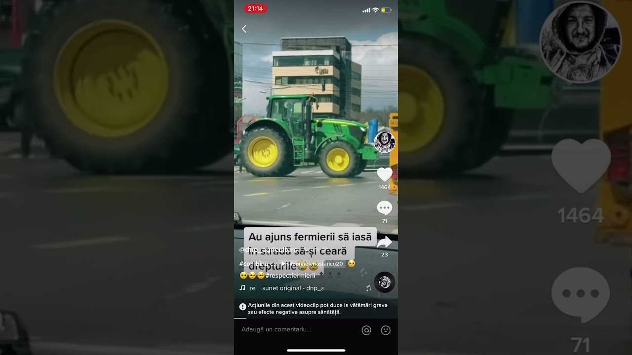 AU AJUNS FERMIERII SA IASA IN STRADA ȘI SA-ȘI CEARA DREPTURILE!! sursa dnp_agriculture-tiktok SHARE!
