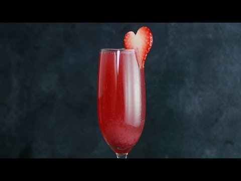 A 'Heart-Shaped Box' Cocktail for Valentine's Day