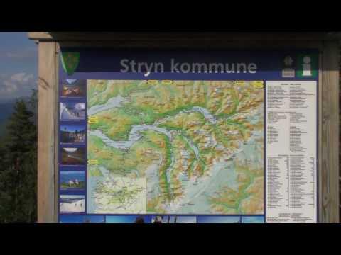 090706LU(L)- Stryn, sulla via verso Trondheim da Bergen
