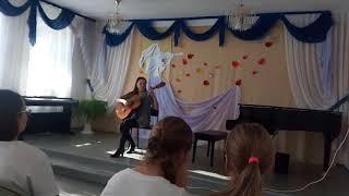 Открытый урок сына в Музыкальной школе #7 г.Хабаровск.