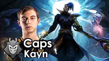 Caps picks Kayn