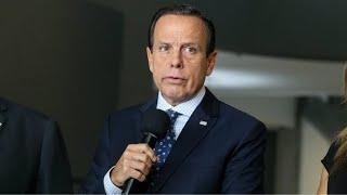 Doria anuncia novas medidas no combate à pandemia em SP - 02/09