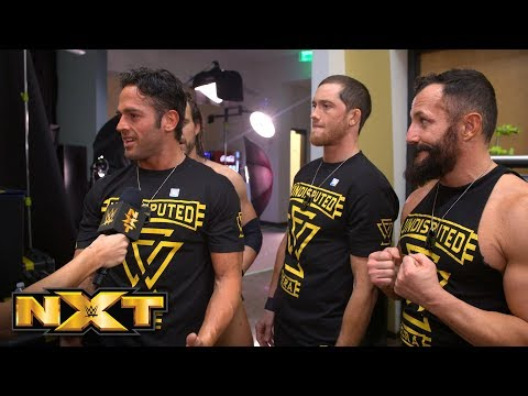 Roderick Strong vows to leave Aleister Black lying next week: NXT Exclusive, Feb. 13, 2019