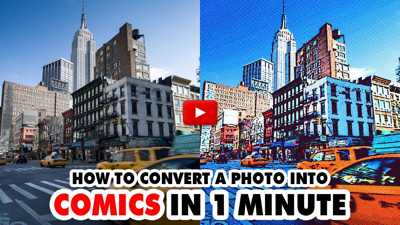 Comics Photoshop Action - Video Tutorial | Mesothelioma Attorney Directory Of Photoshop