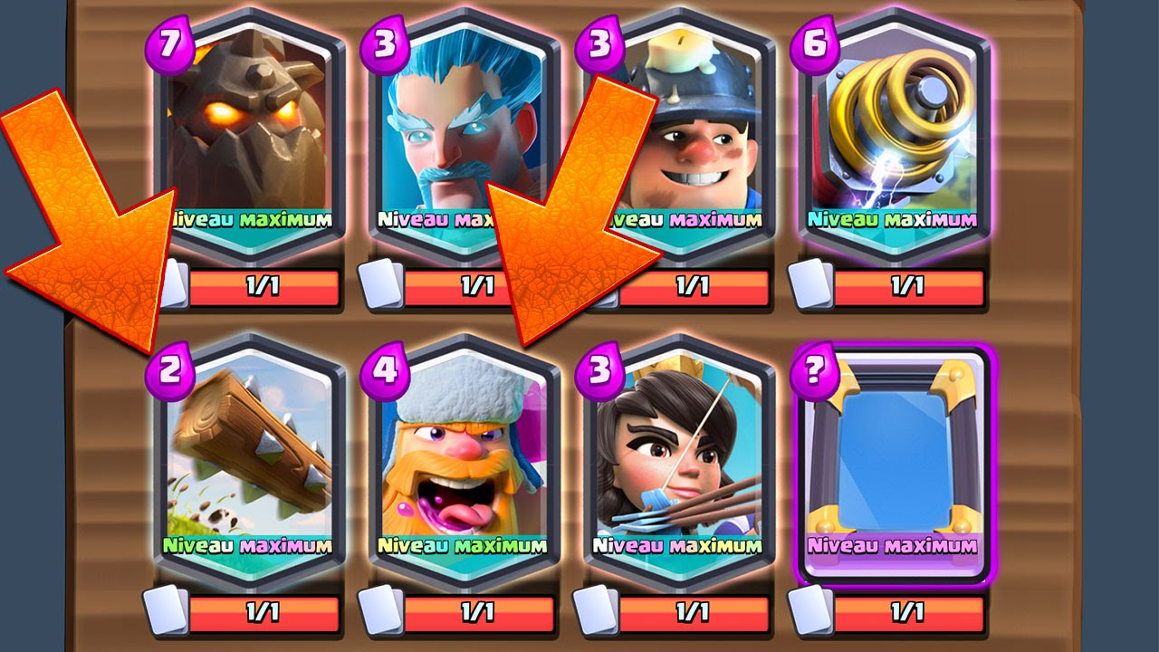 Clash royale combats avec les 7 l gendaires youtube for Clash royale deck molosse