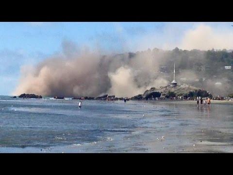 New zealand Earth quake : Tsunami Alert Triggered by 7.4 Magnitude Earthquake