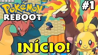 Pokémon Reboot (Detonado - Parte 1) - O Início (Monotype de Fogo!)